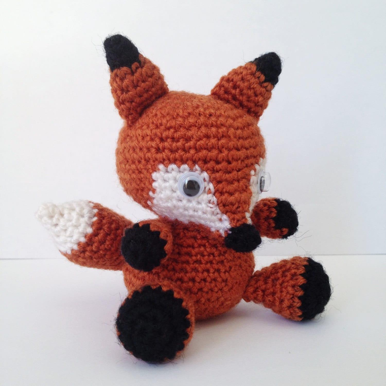 Amigurumi Free Patterns Pokemon : FOX Amigurumi Pattern Foxy Red Panda Baby Animal Easy DIY PDF