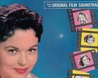 Shirley Temple's Hits from her Original Film Soundtracks, 1959, vinyl LP Record, Movie Soundtracks
