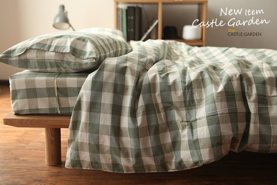 items similar to green and white check pattern spring