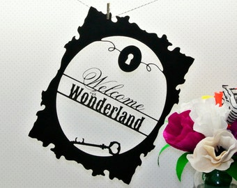 Welcome to Wonderland | Art Cutout