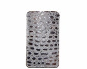 Reptile Embossed  iPhone 6 Leather Sleeve, iPhone 6 Plus, iPhone 4, iPhone 5, Made in USA