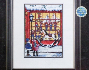 Dimensions The Gold Collection Petites WINDOW SHOPPING By Sandi Lebron - Counted Cross Stitch Kit