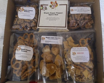 Vermont Maple Snack Gift Pack