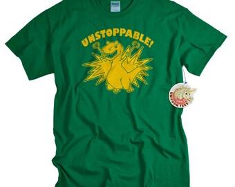 Boys Shirts - T shirts for Teens Boys T Rex is Unstoppable Dinosaur Tshirt T-rex T-shirt or teen boys