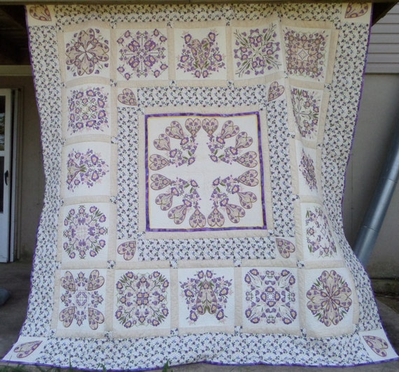 Quilt Patterns For Wedding Gifts : Unique wedding gift Homemade queen size quilt by createdbymammy