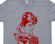 Toddler Atlanta Falcons Red Reflection T-Shirt