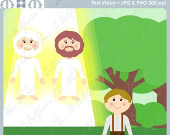 First Vision Digital Clipart (LDS Church History)