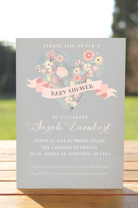 baby shower invitations rustic baby shower invitation printable baby