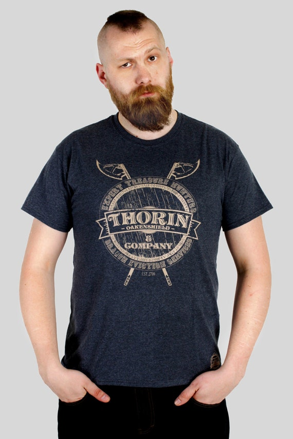 Thorin & Company - Tolkien / Hobbit inspired Men's t-shirt, screen printed by hand