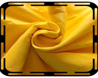 Lemon Yellow Pure Silk Dupioni Fabric, Indian Silk Fabric, Yellow Dupioni Silk Fabric, Lemon Dupioni Silk Fabric, Indian Fabrics By The Yard