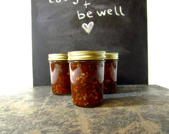 Mamma Mia - Organic Heirloom Tomato Balsamic Basil Jam - Artisan Small Batch Jam