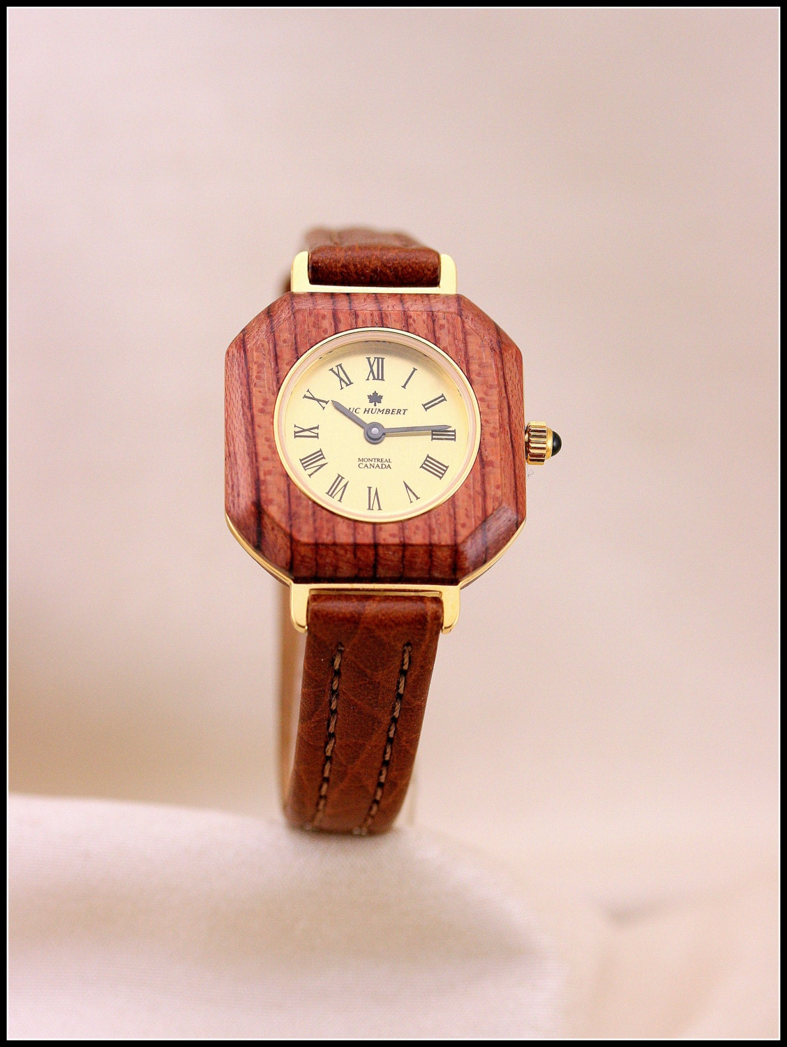 wooden square watches unique watches brown