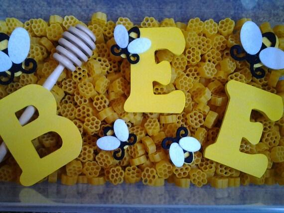 Items Similar To Bee Sensory Bin Pretend Play On Etsy