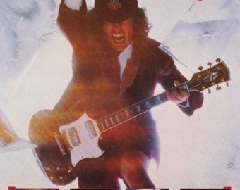 AC DC Angus Collage Rare Poster