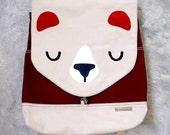 Backpack - The Honey Bear UNISEX BackPack (Fawn Choco) 4 WEEKS TURNAROUND