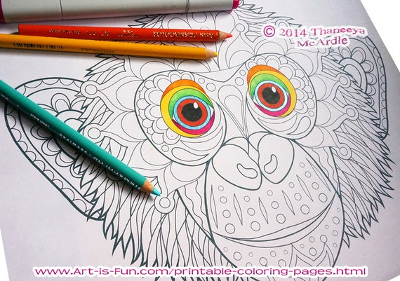Groovy Animals Coloring Pages : Groovy animals coloring pages pdf printable animal