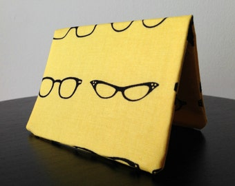 Card Wallet - Yellow Geek Chic