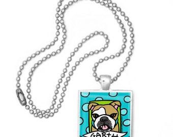 Your Pet Portrait in a Pop Art Pendant Necklace!