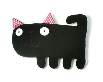 Kicia- handmade plush animal
