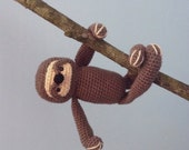 Amigurumi Sloth Crochet Pattern Digital Download