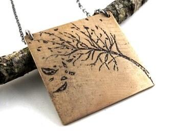 Personalized Tree Pendant - Unbreakable