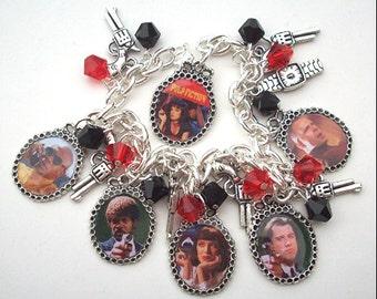 Tarantino's PULP FICTION Charm Bracelet