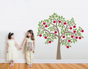 "Apple Tree Wall Decal 72"" x 72"""