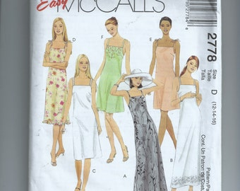 McCall's Missses' /Miss Petite Dress In Three Lengths Pattern 2778