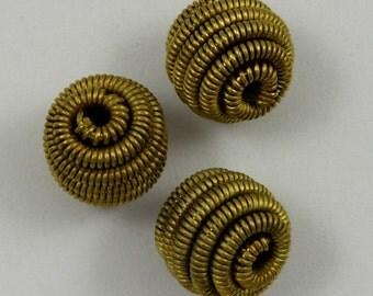 10mm Spiral Twist Ball Bead (4 Pcs) #1752