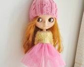 Babydoll TUTU Skirt for Blythe-Pink