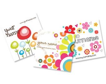 Custom Tags  Custom  Earring Cards  Hair Bow Cards  Display Cards  Jewelry Tags  Jewelry Display  Floral Tags  FLOWER HAPPINESS