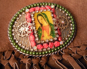 GUADALUPE Collector's Belt Buckle.
