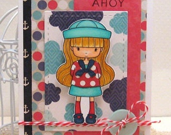 Ahoy - Card and Envelope