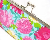 Coupon Organizer Purse Palm Beach Floral