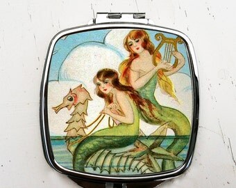 Mermaid Pocket Mirror