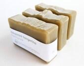 Spearmint Tangerine Shaving Soap with Bentonite Clay
