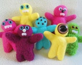 Mini Monster Dolls - Toy Stuffed Animals