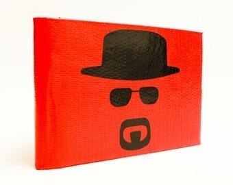 Breaking Bad - Heisenberg - Duct Tape Wallet - by jDUCT