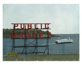 Seattle No. 45 - A2 Greeting Card