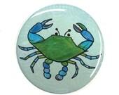 Blue Crab Magnet, Pinback...