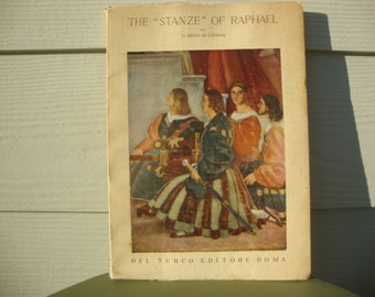 The Stanze of Raphael 1950s Art Book Del Turco Editore Roma by D Redig de Campos