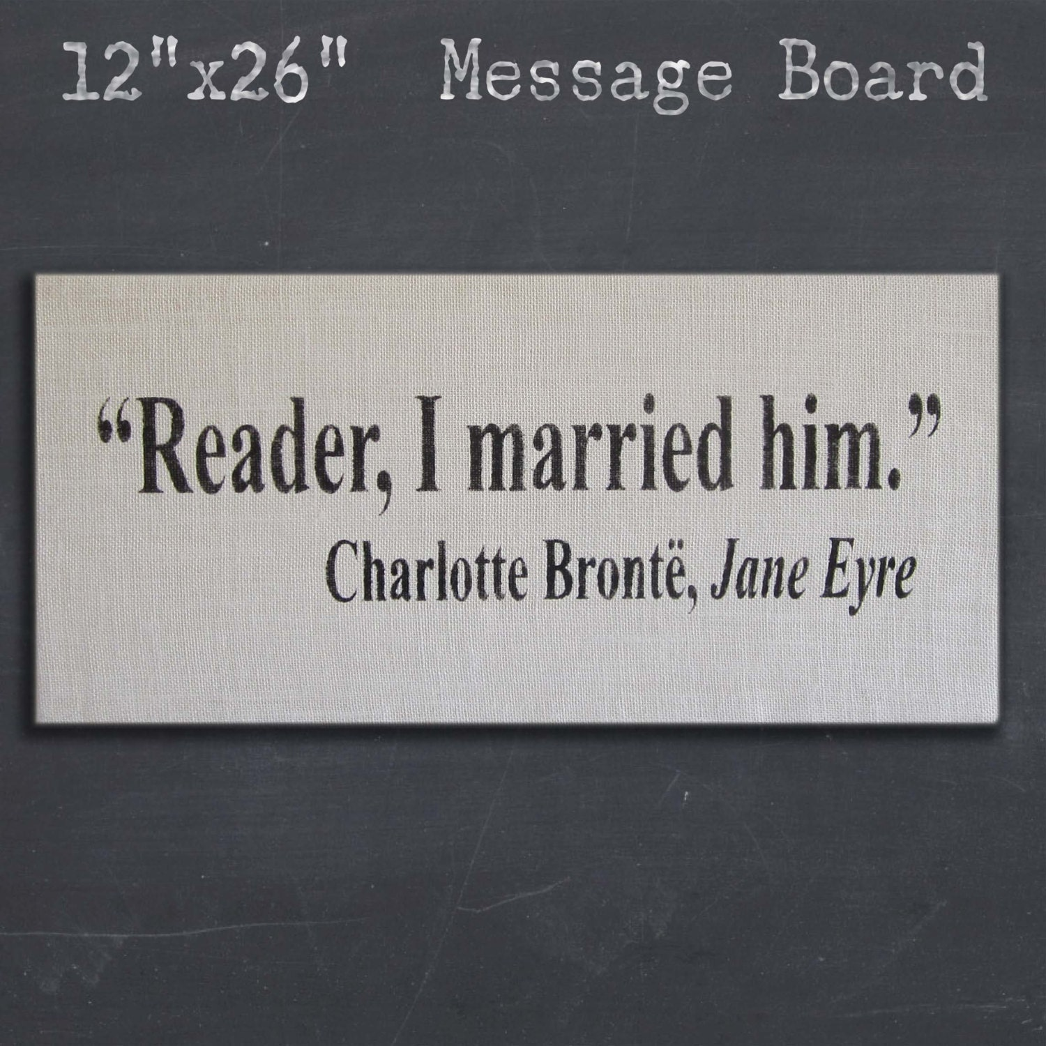 Quotes Jane Eyre Reader I Married Him  Jane Eyre  Charlotte Bronte Quote
