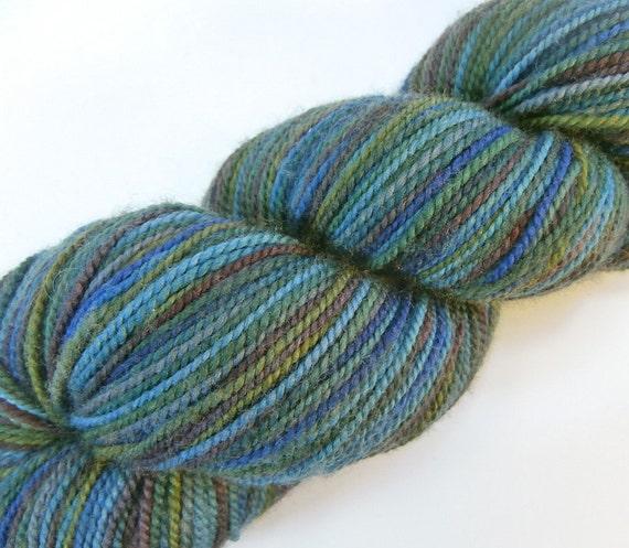 25% OFF SALE hand dyed fingering sock yarn merino superwash NAnTAHALA 400 yds.