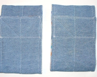 "2 pkg Cotton Top Dog Belly Band READY to SHIP 12.5"" waist size x 4"" wide"