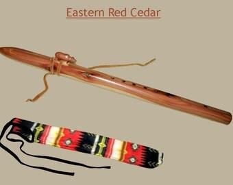 Appalachian Flute - Eastern Red Cedar, with Case
