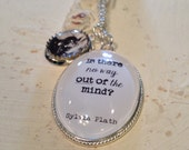 Sylvia Plath Necklace. Is there no way out of the mind?