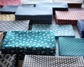 4 pcs - Tenugui - Japanese cotton fabric.