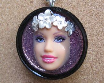 Ms. Hawaii -  Barbie doll pendant