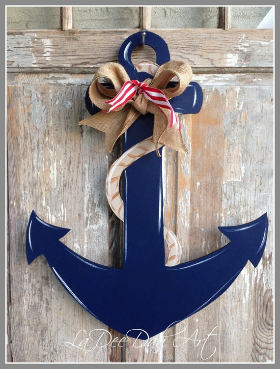 anchor door decor wood art anchor anchor door hanger anchor