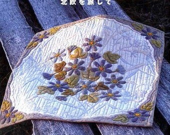 YOKO SAITO's Lovely Scandinavian Quilts and Patchworks - Japanese Craft Pattern Book